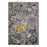 Butterfly Ink Greeting Cards