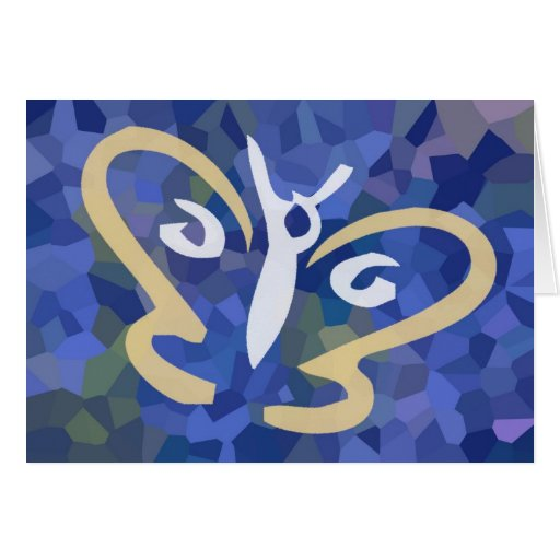 Butterfly Inside Series 1 Greeting Card
