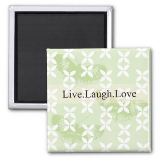 Butterfly Inspirations Live Laugh Love Magnet