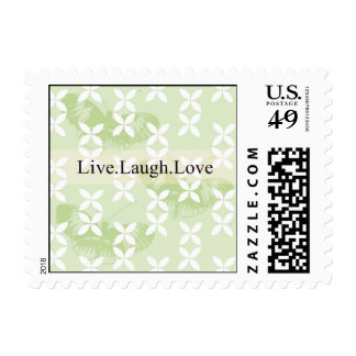 Butterfly Inspirations Live Laugh Love Stamp