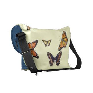 Butterfly Internet Cafe Messenger Bag