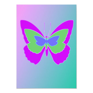 Butterfly Personalized Invitations