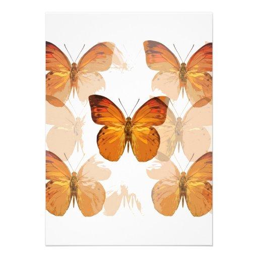 Butterfly Invites - Butterflies Invitation