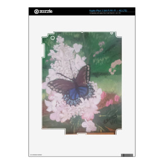 butterfly iPad 3 decal