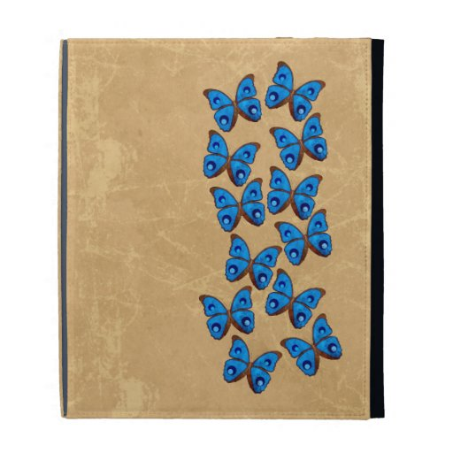 Butterfly iPad Folio Covers