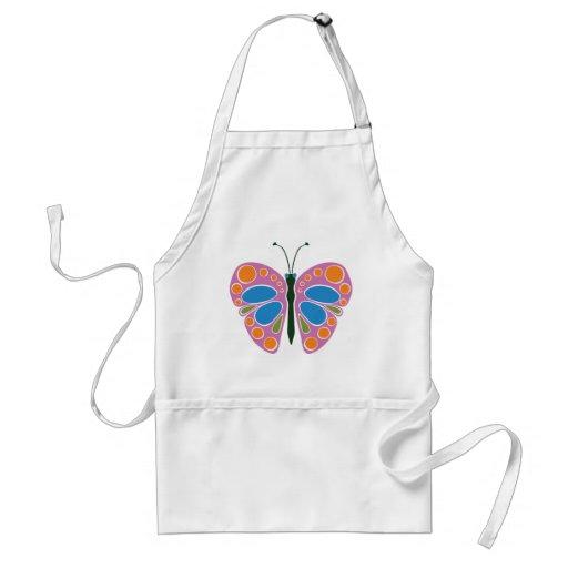 Butterfly Jam Apron