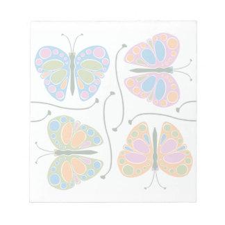 Butterfly Jam Notepad
