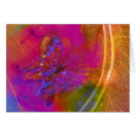 Butterfly Jazz Greeting Card