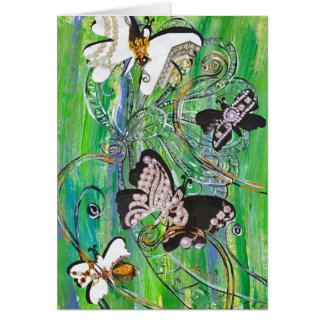 Butterfly Jewels card