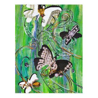 Butterfly Jewels Postcard