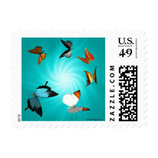 Butterfly Journey Postage