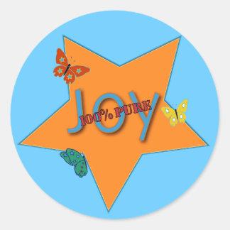 Butterfly Joy Sticker
