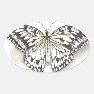 butterfly.jpg oval sticker