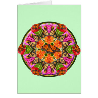 Butterfly Kaleidoscope Card