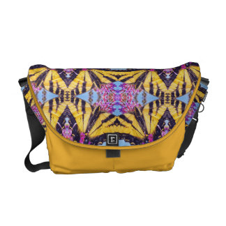 Butterfly Kaleidoscope Courier Bag