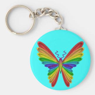 butterfly key ring keychain