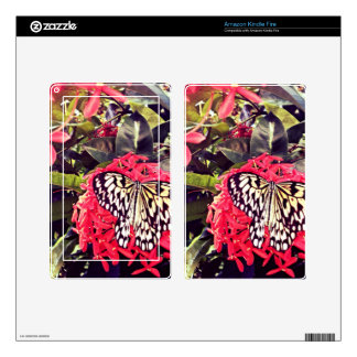 Butterfly Kindle Fire Decal