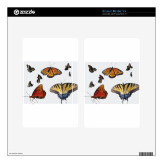 Butterfly Kindle Fire Skin