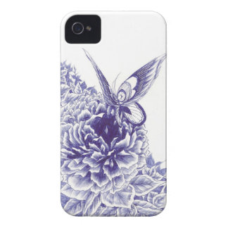 Butterfly Kiss iPhone 4 Case-Mate Case