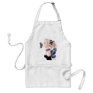 Butterfly Kiss, Daisey Van Diesel Adult Apron
