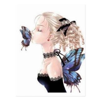 Butterfly Kiss, Daisey Van Diesel Postcard