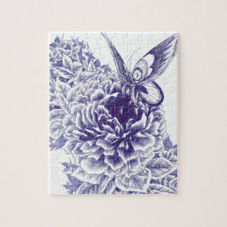 Butterfly Kiss Jigsaw Puzzle