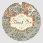 Butterfly Kisses Antique TY Sticker