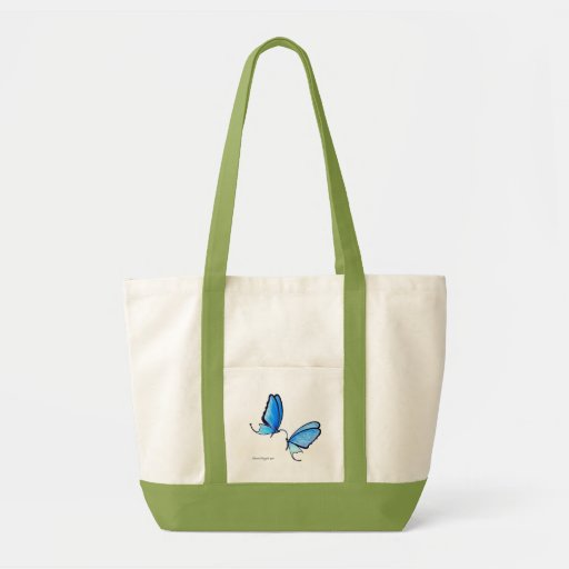 Butterfly Kisses Canvas Bags