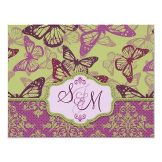 Butterfly Kisses Flirt Directions Card