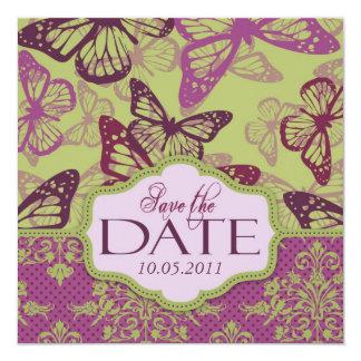 Butterfly Kisses Flirt SD Square Card
