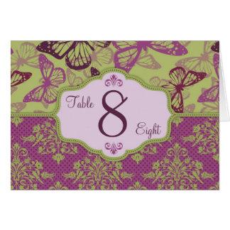 Butterfly Kisses Flirt Table Card 2