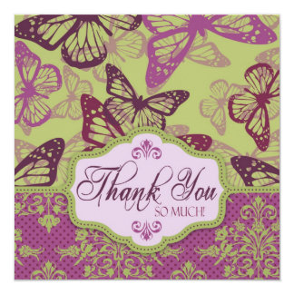 Butterfly Kisses Flirt TY Square Card