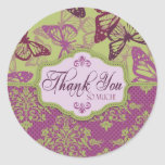 Butterfly Kisses Flirt TY Sticker