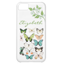 Butterfly Kisses iPhone 5 Phone Case