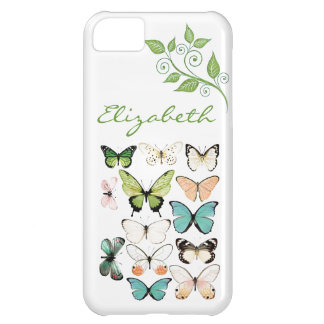 Butterfly Kisses iPhone 5 Phone Case iPhone 5C Cover