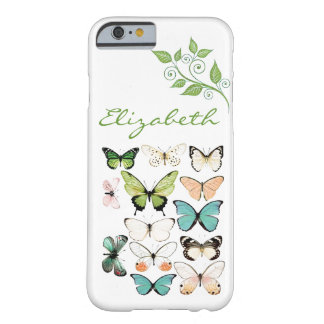 Butterfly Kisses iPhone 6 Phone Case Barely There iPhone 6 Case