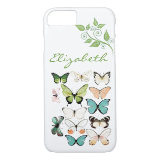 Butterfly Kisses iPhone 7 Phone Case