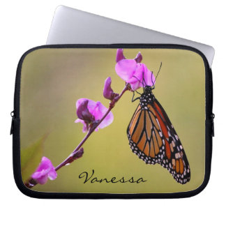 Butterfly Kisses Laptop Sleeve