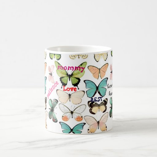 Butterfly kisses - Mother's Day Mug