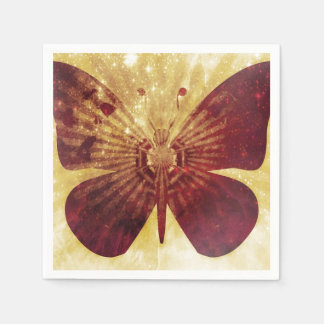 Butterfly Kisses Standard Cocktail Napkin