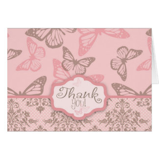Butterfly Kisses Petal TY Card