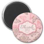 Butterfly Kisses Petal TY Magnet
