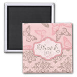 Butterfly Kisses Petal TY Magnet 2
