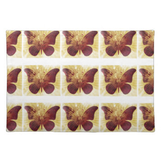 Butterfly Kisses Cloth Place Mat