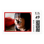 Butterfly Kisses Postage Stamp