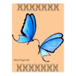 Butterfly Kisses Postcard
