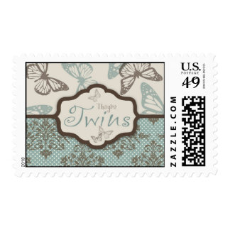 Butterfly Kisses Retro Stamp 2