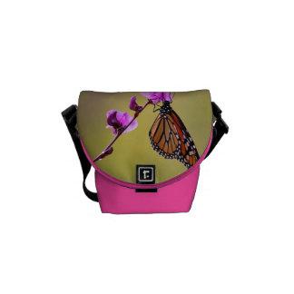 Butterfly Kisses Rickshaw Messenger Bag