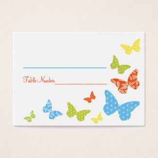 Butterfly Kisses Seating Cards