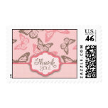Butterfly Kisses TY Stamp Pink